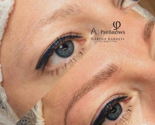Microblading Augenbrauenrekonstruktion
